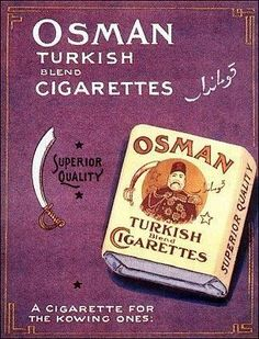 add in Usa 1930 Gazi Osman Pasa Vintage Cigarette Ads, Cigarette Brands, Vintage Labels, Vintage Ads, Dipping Tobacco, Old Poster, Gravure Illustration, Cool Posters, Travel Posters