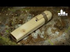 DIY whistle inspired by the Native American flute - YouTube