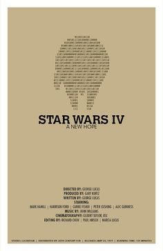 Star Wars: Episode IV: A New Hope - Poster by Christian Petersen #starwars