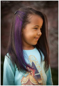 real dark purple streak in hair | purple hair streaks-byjz