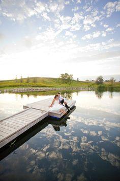 Definitely should do this on my wedding day in my grandmas dock