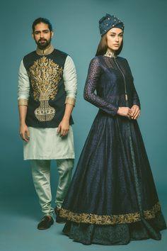 Photo of Bridal Wear - SVA by Sonam and Paras via Indian Men Fashion, India Fashion, Ethnic Fashion, Men's Fashion, Pakistani Kurta, Pakistani Outfits, Indian Outfits, Indian Groom Dress, Gents Kurta Design