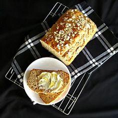 Honey Oat Quick Bread - fast, easy, healthy, delicious. High fiber ...