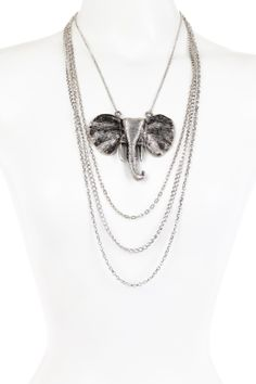 Pacyderm Chain Necklace