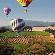 Napa Valley Hot Air Baloons