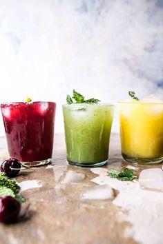 Summer Sodas 3 Ways: Hibiscus Agua Fresca, Cucumber Melon Refresher, Mango Lemonade Sangria Recipes, Cocktail Recipes, Smoothie Recipes, Smoothies, Cocktails, Funnel Cakes, Summer Drinks, Cold Drinks, Aguas Frescas