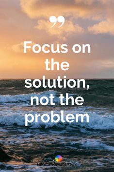 Focus on the solution not the problem - Inspirerende en positieve Nederlandse quotes. Meditation Retreat, Meditation Music, Zen Pictures, Most Beautiful Pictures, Feel Good, Positivity, In This Moment, App, Feelings