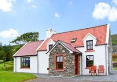 Jimeens Coastal Cottage- County Kerry, Country Cottages, Irish Traditions, Coastal Cottage, Countryside, Ireland, Cabin, Traditional, Mansions, House Styles