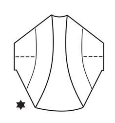 Bolero con cuadrado en ganchillo, trabajado en DROPS Big Delight. Talla S – XXXL. Patrón gratuito de DROPS Design.