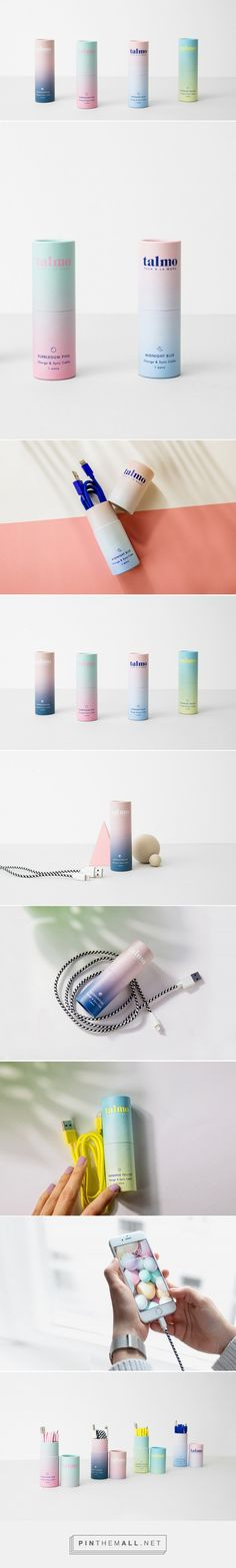 Talmo Design Cables - Mindsparkle Mag - created on Skincare Packaging, Luxury Packaging, Beauty Packaging, Cosmetic Packaging, Brand Packaging, Coffee Packaging, Pretty Packaging, Blog Design, Packaging Design Inspiration