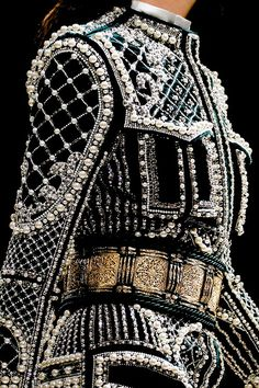 Bejeweled with Pearls - Balmain Autumn/Winter 2012