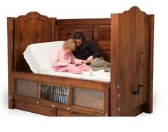 Beds by George manufactures customized safety beds that can be configured specifically for a childs needs!