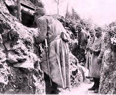 Première guerre mondiale : tranchée, côté francais 1915