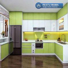 Simple Kitchen Design, Kitchen Room Design, Interior Design Kitchen, Kitchen Decor, Kitchen Layout Plans, Kitchen Cupboard Designs, Kitchen Cabinets, Storage Cabinets, Kitchen Modular