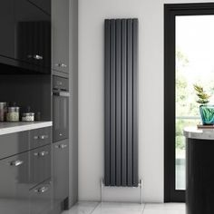 Buy the Brenton Flat Single Panel Vertical Radiator - 1800 x online today from Only Radiators at this great price and receive top Customer Care and Free UK Delivery! Home, Room Doors, Central Heating, Vertical Radiators, Paneling, Bathroom Radiators