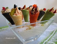 Churros, Appetizers For Party, Appetizer Recipes, Decadent Cakes, Tapas Bar, Catering Menu, Snacks, Morning Food, Canapes