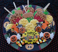 Vintage Halloween Treat Platter | by cookieartisan