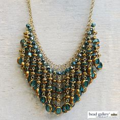 DIY Envy Necklace - Click for instructions to make your own! #madewithmichaels #BeadGallery