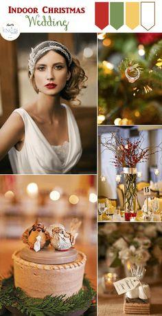 Christmas Wedding Inspiration (1)