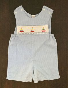 Vintage 1970s Husky Dog Printed Unisex Baby Sleeveless Jumpsuits Playsuit Outfits