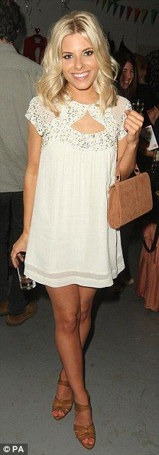 perfect dress for formal. Mollie King in French Connection