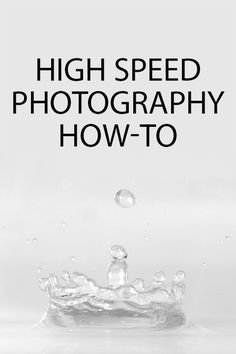 High speed photography How-to How to freeze action when taking high speed photos of subjects such as people in motion, water splashes, or items smashing. Written by Discover Digital Photography January www. Flash Photography Tips, High Speed Photography, Photography Basics, Photography Lessons, Photoshop Photography, Photography Editing, Photography Business, Photography Tutorials, Macro Photography