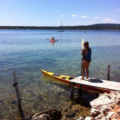 Fornells - Kayak http://www.VisitMenorca.com #menorcanatural #menorca