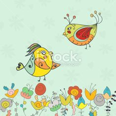 Background Bird Bunny Flower Stock Photos / Images 2015 Collection