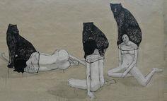 #hyuro  weighed down,,,burdened by the black dog...=depression