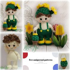 Amigurumi Cactus Boyy Free Crochet Pattern - Amigurumi Patterns Pic2re Crochet Slipper Pattern, Crochet Amigurumi Free Patterns, Crochet Slippers, Crochet Dolls, Crochet Baby, Free Crochet, Single Crochet Stitch, Doll Patterns, Baby Patterns