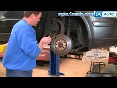 How To Install Replace Front Brakes VW Passat 98-01 1AAuto.com