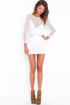 white dress (no wine!)
