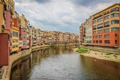 Rivery Onyar, Girona, Catalonia, Spain