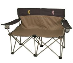 Browning Buckmark His and Hers Bench Camp Chair.........so cute!!!!!!