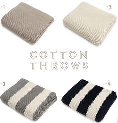 Cotton Throws