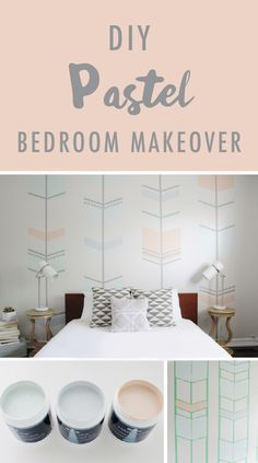 This DIY Pastel Bedroom retreat showcases both vintage 60's-inspired style and modern lines to create a one-of-a-kind space. Sabrina from @pinklilnotebook has all the inspiration and creative ideas you need to dream up your own design balance.