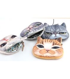 Maple Memories Siamese Cat Animal Portable Canvas Coin Purse Change Purse Pouch Mini Wallet Gifts For Women Girls