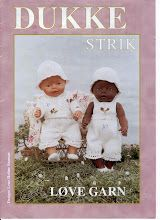 Bilde: Knitting Dolls Clothes, Sewing Dolls, Knitted Dolls, Ag Dolls, Baby Born Clothes, Preemie Clothes, Baby Knitting Patterns, Doll Patterns, Baby Barn