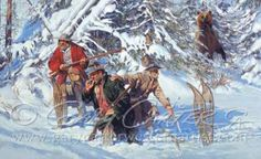 Gary Carter Early American, American Art, Gary Carter, Longhunter, Mountain Man, Outdoor Art, Western Art, Movie Stars, Westerns