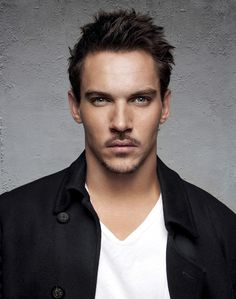 "If I had to describe Jonathan Rhys Meyers in one word, it would be INTENSE. Only a couple of years younger than me, I think I first saw him while he was still quite young in ""The Governess"". I think he just keeps getting hotter as time passes. Blue-eyes and Irish are just bonuses. I loved him in ""The Tudors"" and I think he was the perfect man to play Dracula in the new TV show. I'm already hooked!"