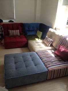 Modular Floor Pillows Modular Floor Pillow Motif Pillows O Nongzico