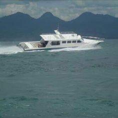 Hunter speed boat