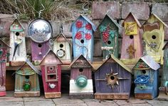 Trash to Treasure Birdhouse Inspiration