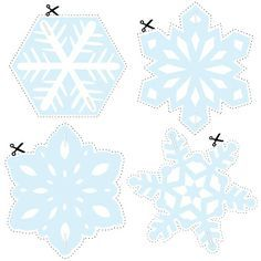 make a snowflake hanging decoration, with free printable template & step by step instructions.How to make a snowflake hanging decoration, with free printable template & step by step instructions. Frozen Themed Birthday Party, Elsa Birthday, Frozen Party, Birthday Ideas, How To Make Snowflakes, Paper Snowflakes, Christmas Snowflakes, Festa Frozen Fever, Frozen Room