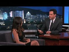 """Jimmy Kimmel Live!: George Stephanopoulos, Andi Dorfman, Charles Bradley: Andi Dorfman on Being the Bachelorette -- Andi reveals how being an assistant district attorney has helped her on """"The Bachelorette"""" and she shares how she would feel if a friend of hers got engaged after only dating someone for two months. -- http://www.tvweb.com/shows/jimmy-kimmel-live/season-12/george-stephanopoulos-andi-dorfman-charles-bradley--andi-dorfman-on-being-the-bachelorette"""
