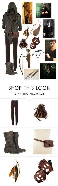 """Lost Girl - Peter Pan"" by blackwidow321 ❤ liked on Polyvore featuring Armani Jeans, AllSaints, Style & Co., Gilded Lily Goods, Aspinal of London, Once Upon a Time, women's clothing, women, female and woman"