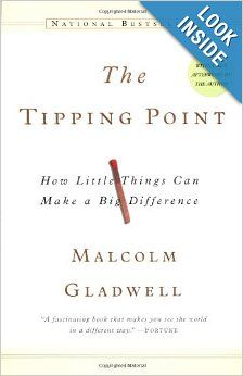 The Tipping Point: How Little Things Can Make a Big Difference: Malcolm Gladwell. I am not a fan of Malcolm Gladwell, but this books is a must read for anyone involved in marketing and communications. Malcolm Gladwell, This Is A Book, The Book, Reading Lists, Book Lists, Reading Books, Reading 2014, Reading Activities, Books To Read