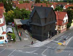 The Black House in Stuttgart by ABTart