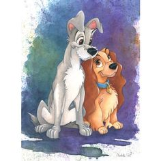 Disney ❤ liked on Polyvore featuring disney and lady and the tramp