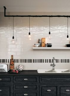 Wall tiles Manhattan by Fap Ceramiche #kitchen @Fap Ceramiche
